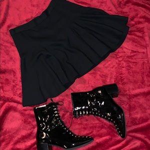 Robert Rodriguez Black Skater skirt